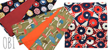 カジュアルな帯、木綿帯、半幅帯
